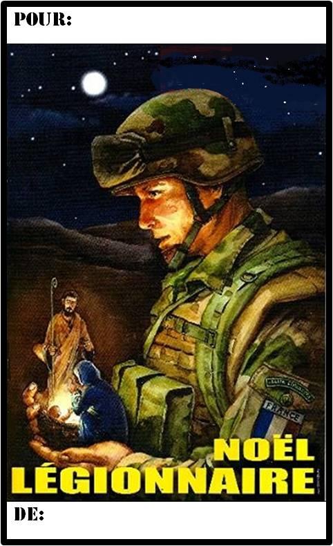Foreign legion christmas tags mon legionnaire