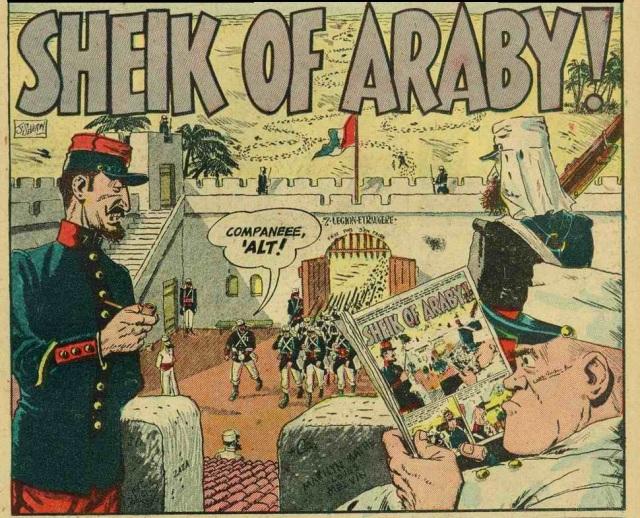 Sheik of Araby!