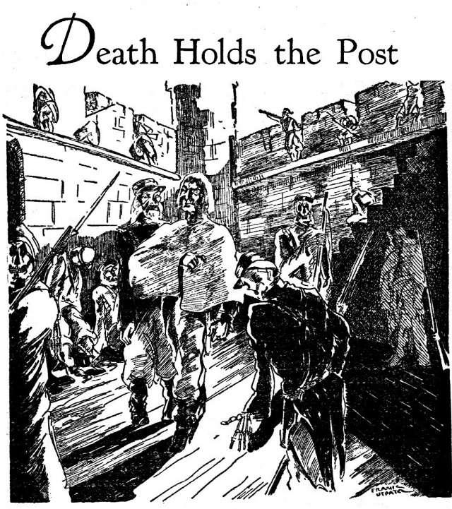 Death Holds the Post Illustration