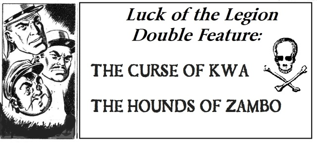 Luck of the Legion Double Feature Ad