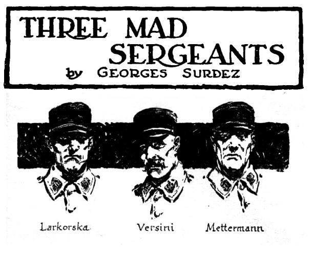 3 Mad Sergeants