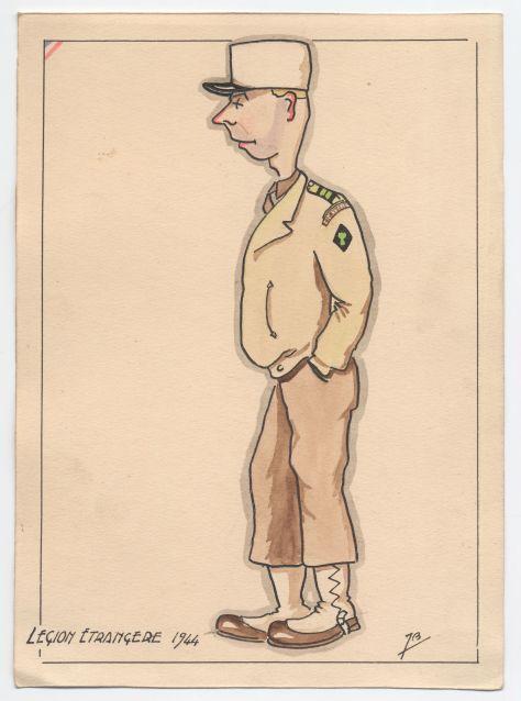 Legion Etranger 1944