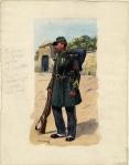 Tirailleur du 1er Etranger, Létif, 1857