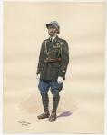 1er de B. de chasseurs a Pied chef de fanfare 1939