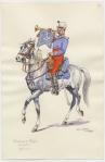 Chasseur D'Afrique Mounted