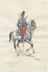 Chasseurs a cheval. Brigadiere
