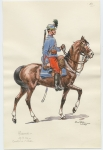 Hussards, cavalier de 1 classe