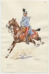 Hussards. Lieutenant
