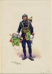 Trompette, 8e Chasseurs à Pied, 1941