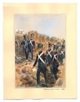 Artillerie a pied et Genie 1830