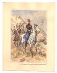 Le Chef d'escadron Courby de Cognard et ses hussards 1845