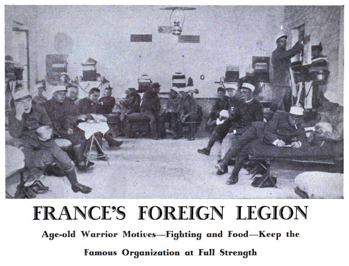 France s foreign legion mon legionnaire